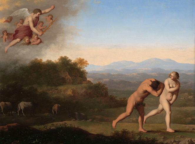 cornelis-van-poelenburch-la-expulsion-del-paraiso-pintores-y-pinturas-juan-carlos-boveri